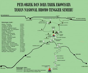 Lokasi Gunung Bromo |Rute, Jalur Gunung Bromo | Letak Gunung Bromo | Peta Lokasi Bromo