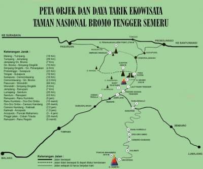 Lokasi Dan Letak Gunung Bromo Jawa Timur Paket Wisata