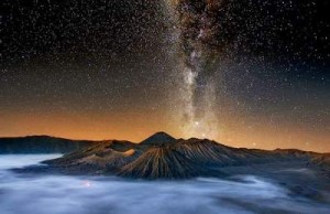 Milky Way Di Bromo